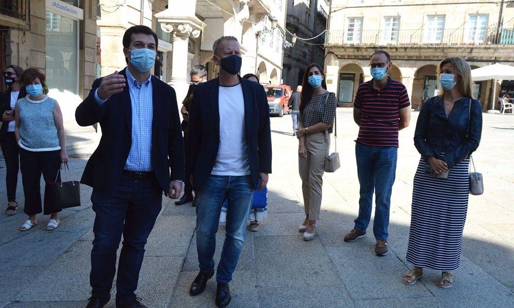 Guerra por Ourense: el PSOE reclama a Jácome la Alcaldía
