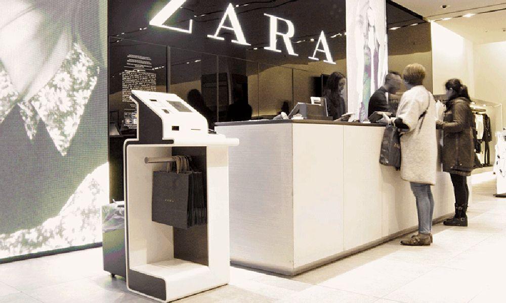 Rebelión sindical contra los cajeros autoservicio de Zara