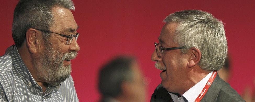 Toxo, Méndez y los sindicatos gallegos claman contra la patronal conservera
