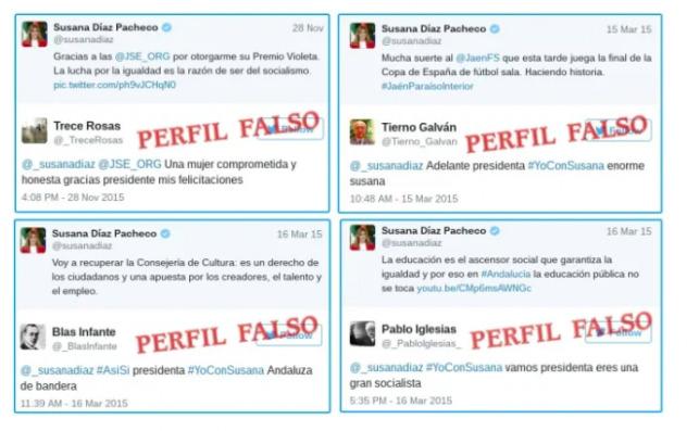 Bots del PSOE andaluz
