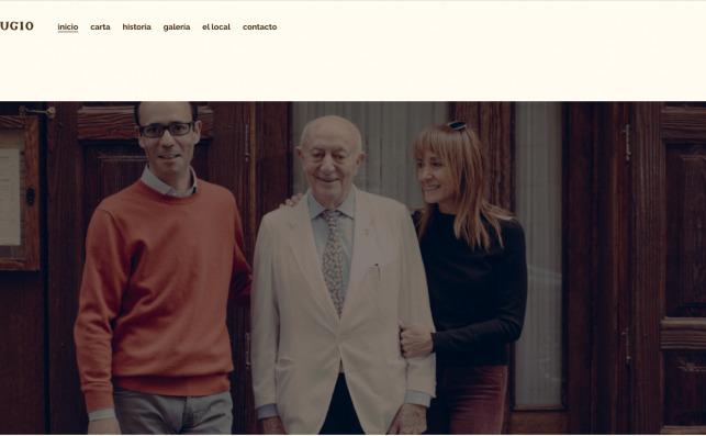 Captura de pantalla de la web casalucio.es