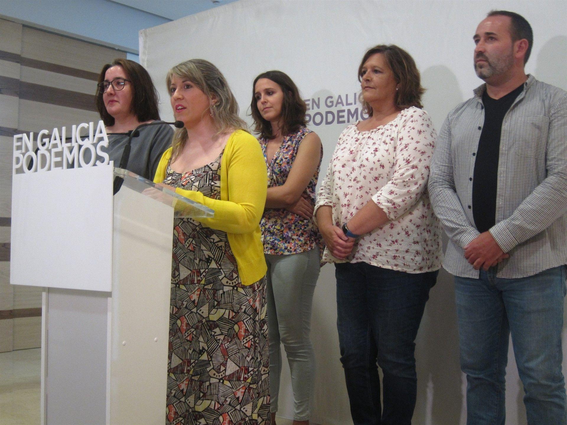 Podemos Galicia convoca elecciones para elegir a su nueva cúpula