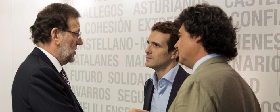 """Pablo Casado: """"El PP ha cumplido el 93 por ciento del programa"""""""