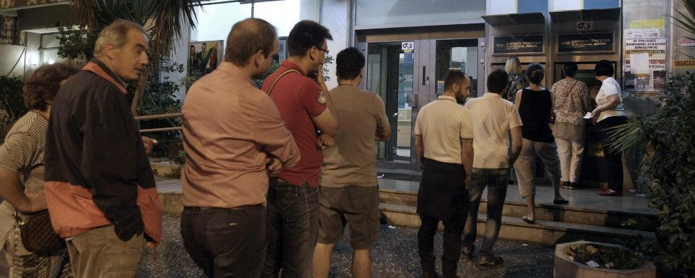El Banco Central Europeo condenará a Grecia al 'corralito'