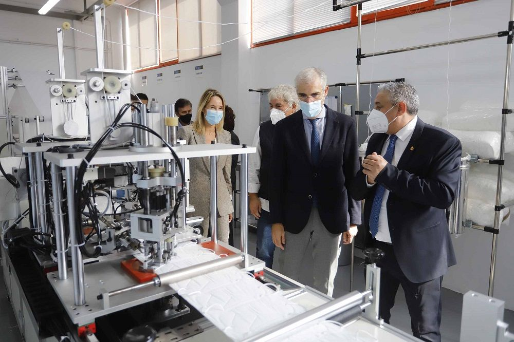 Galmask: nace en Vigo la primera fábrica de mascarillas de Galicia
