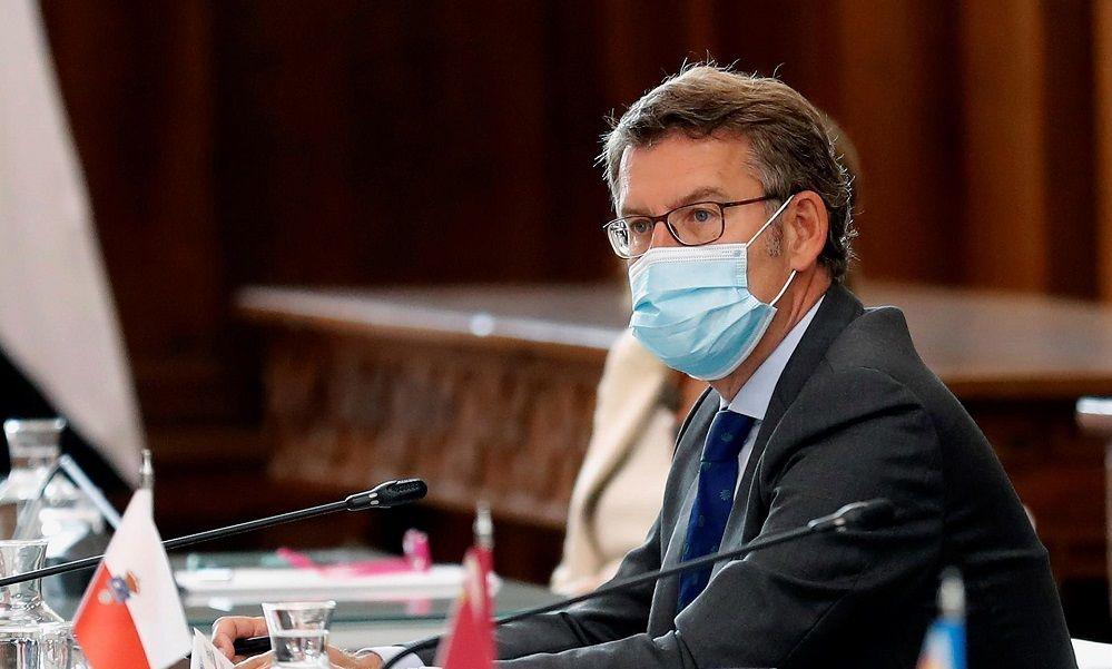 """Feijóo: """"No podemos contener la pandemia con esta situación jurídica"""""""