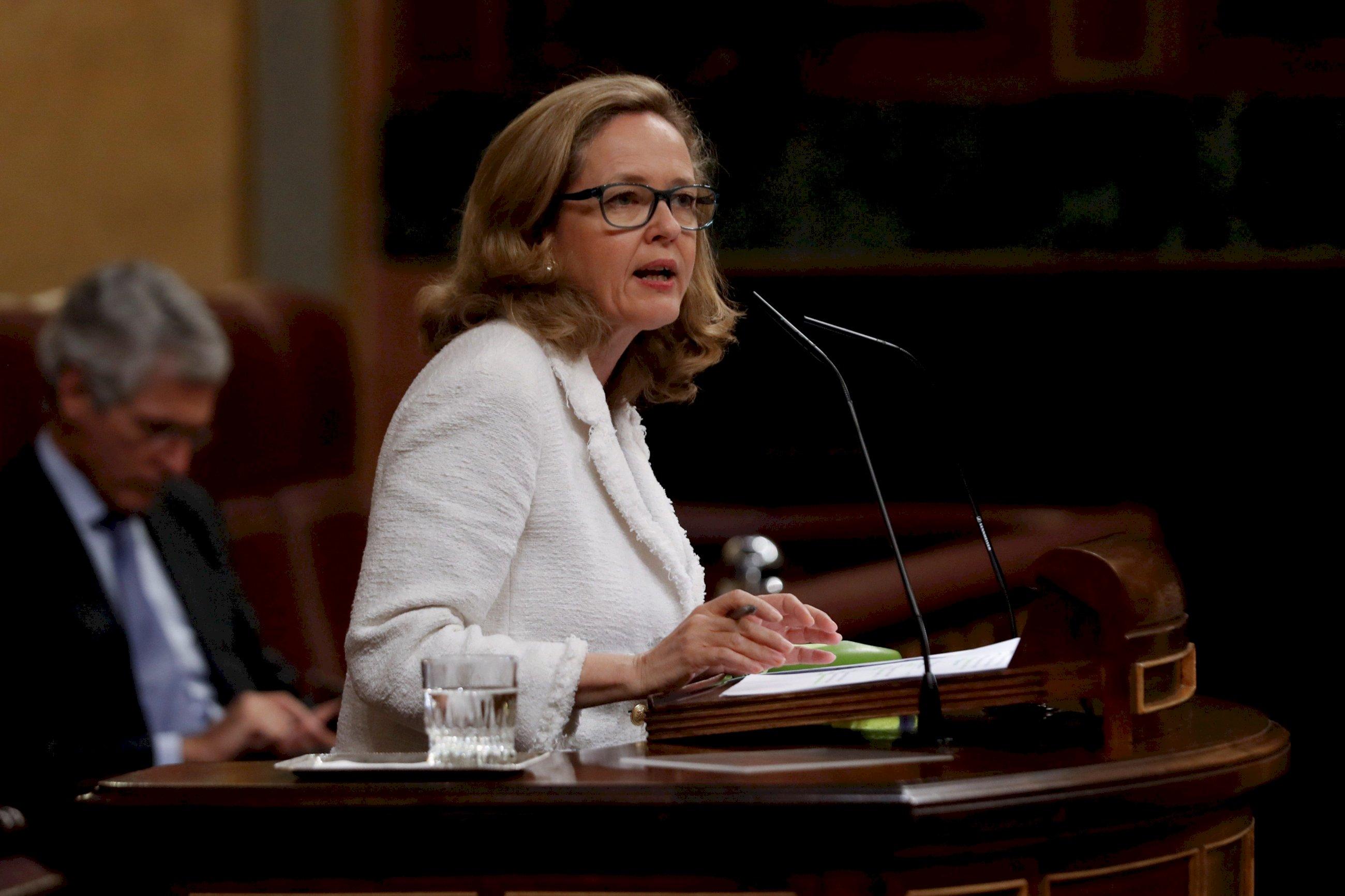 Nadia Calviño naufraga: Paschal Donohoe presidirá el Eurogrupo