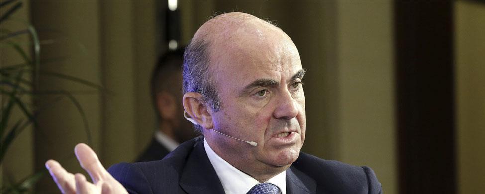 """De Guindos: """"Los mercados creen que la independencia catalana es indeseable"""""""