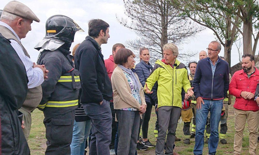 Jesús Calleja rectifica tras un aluvión de críticas de los agentes forestales