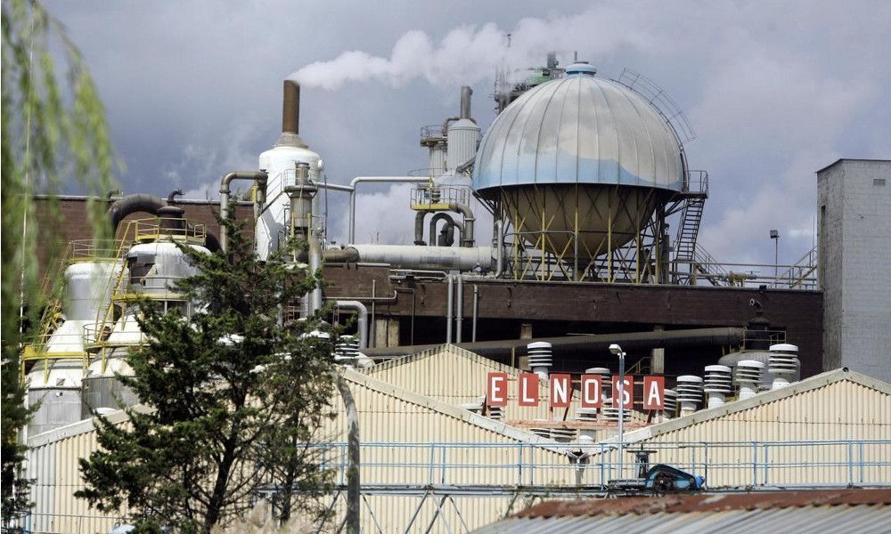 Elnosa cierra la fábrica de Pontevedra