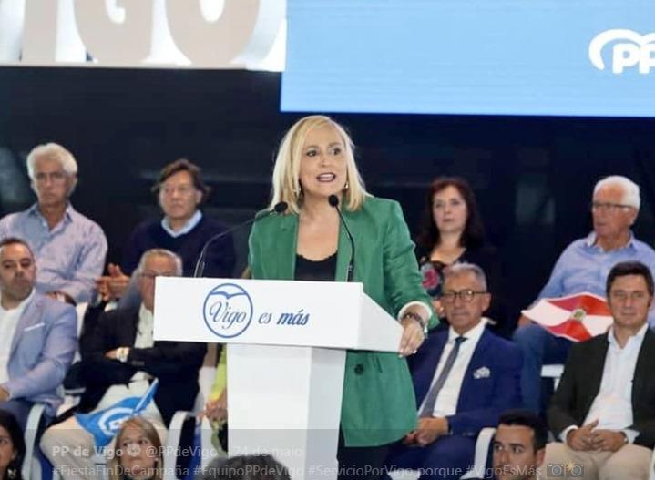 """Elena Muñoz dimite tras los """"muy malos resultados"""" del PP en Vigo"""