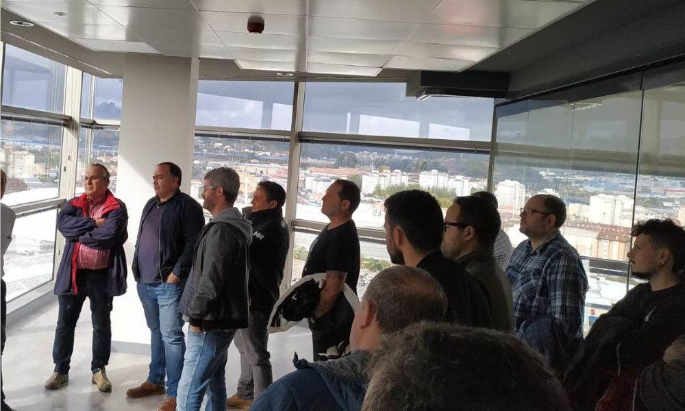 Trabajadores de la central de As Pontes ocupan las oficinas de Endesa