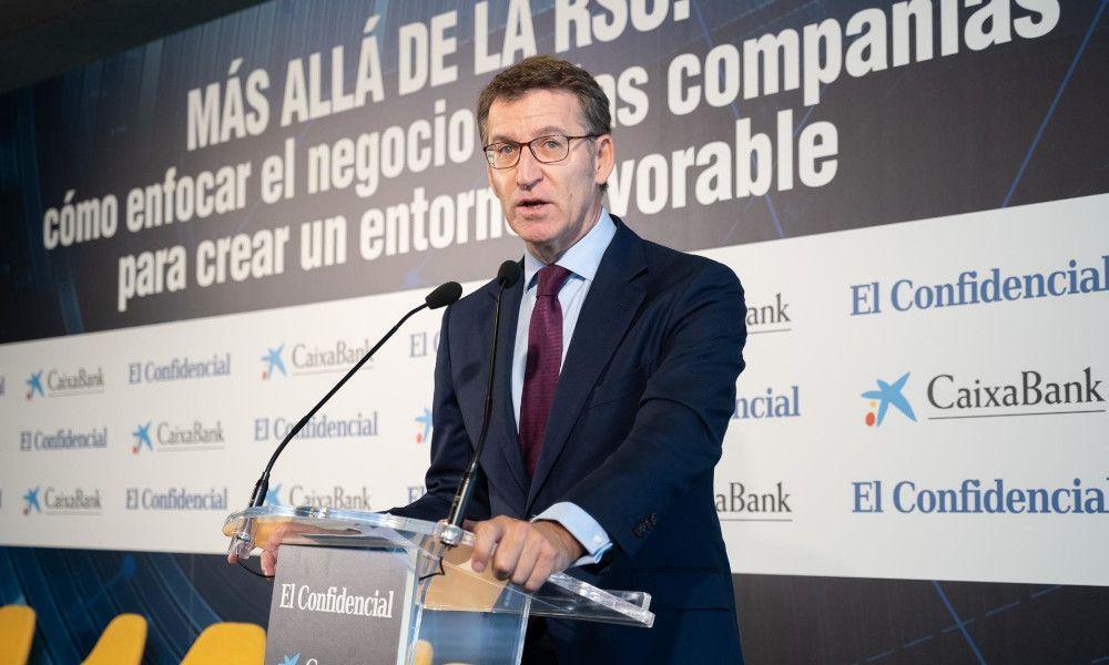 """Feijóo dice a los independentistas que """"desprestigian"""" a Cataluña"""