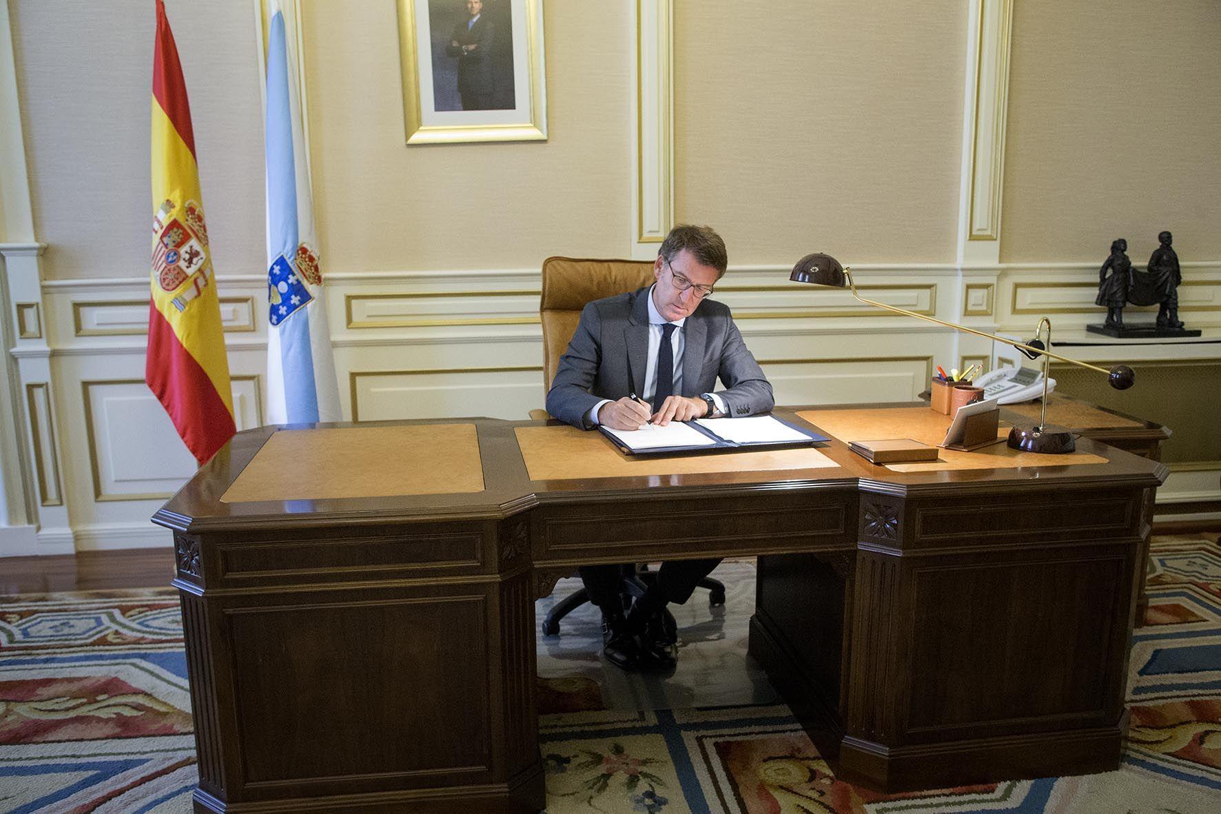 Feijóo nombra a tres nuevos conselleiros para preparar las municipales