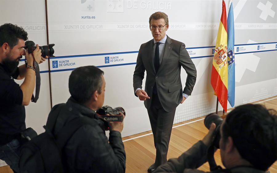 """Feijóo, sobre la corrupción en Pemex: """"Que investiguen lo que quieran"""""""