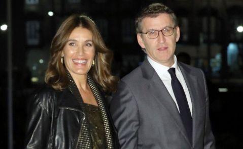 Eva Cárdenas y Alberto Núñez Feijóo / Zipi (EFE)