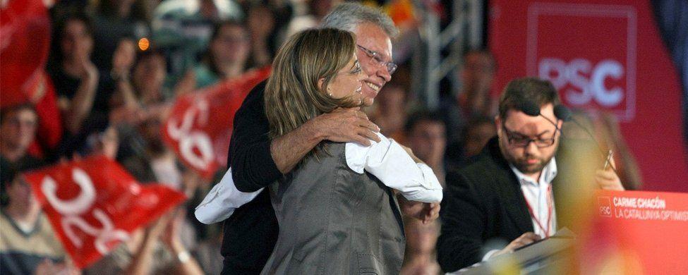 El PSC se quita los complejos y tirará de Felipe González y Pedro Sánchez en la campaña electoral