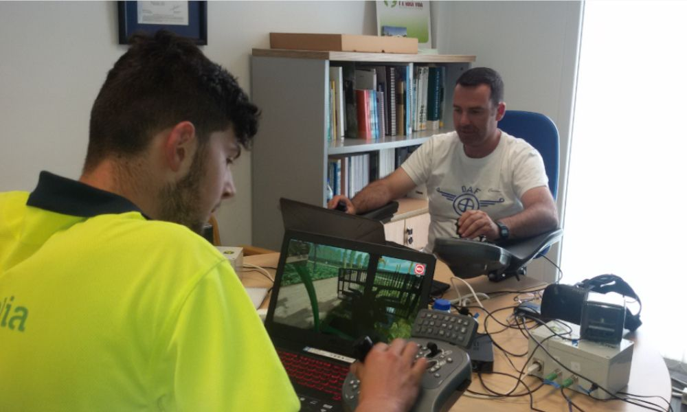 Los aserraderos gallegos innovan con realidad virtual en sus cursos