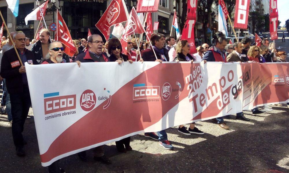 Miles de personas marchan contra la precariedad laboral y la desigualdad