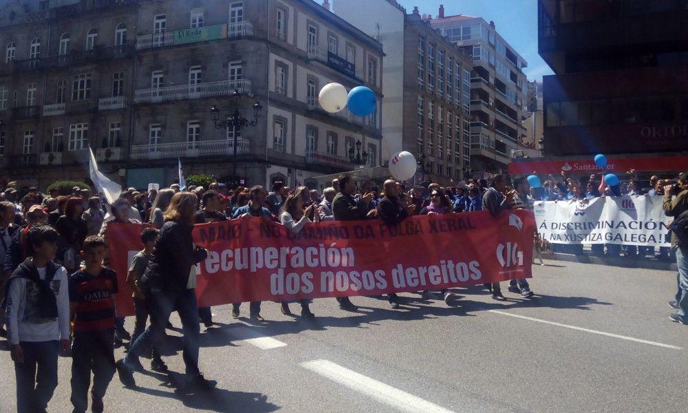 La CIG convoca una huelga general el 19 de junio