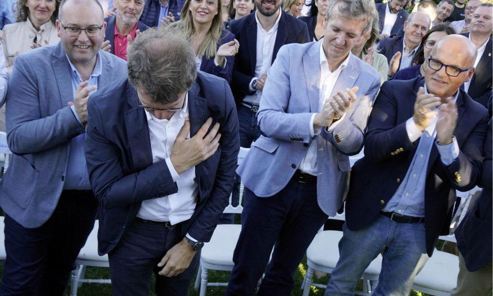 Feijóo descarta dar la batalla para suceder a Rajoy