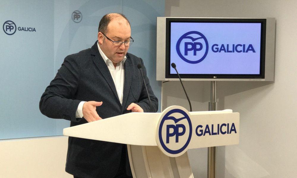 El PP gallego aprovecha el discurso del Rey para cargar contra Sánchez