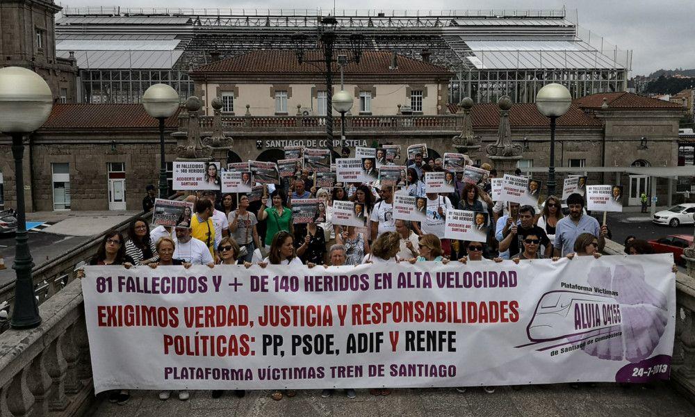 Las víctimas de Angrois recurren el cierre de la investigación