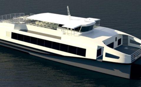 Diseño para la construcción de dos catamaranes para el armador holandés Aqualiner / Rodman