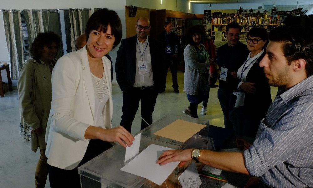 """Ana Pontón: """"Nos jugamos que Galicia esté presente y tenga voz propia"""""""