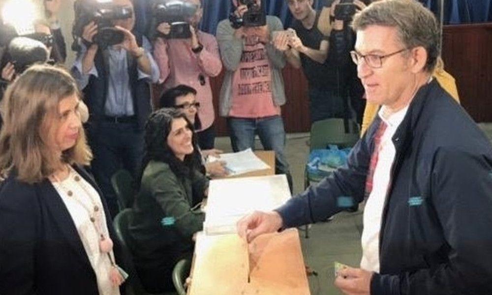 """Feijóo reconoce que habla con Urkullu, pero """"votar no está en agenda"""""""