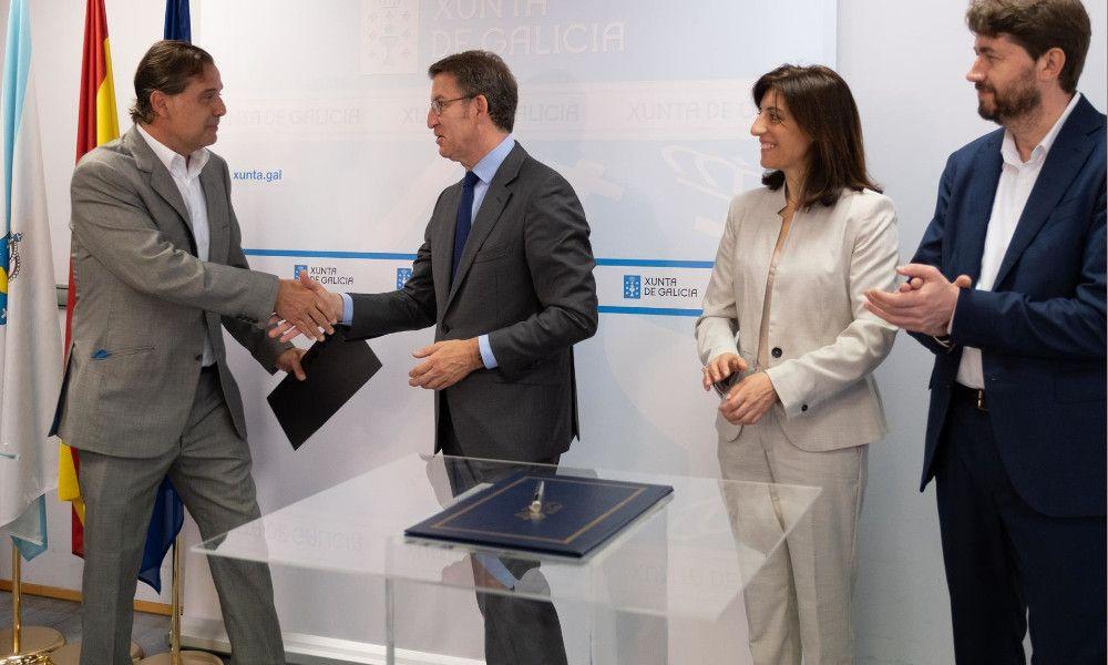La Xunta cierra con Estrella Galicia su mayor venta histórica de suelo