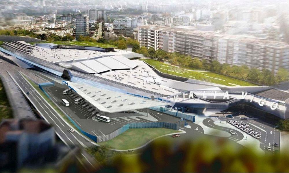 Comsa y Ogmios construirán la estación intermodal de Vigo
