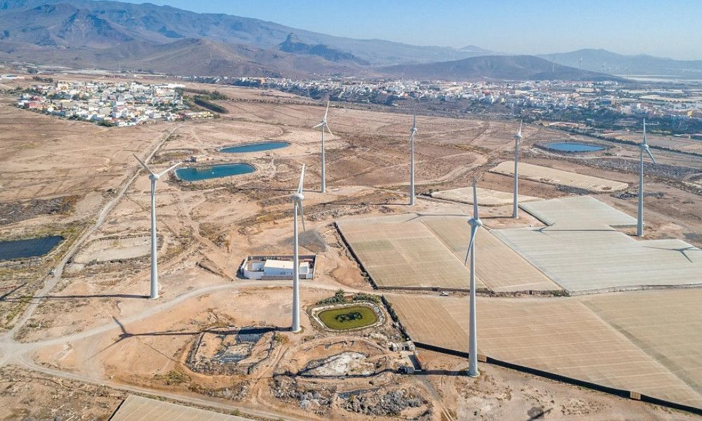 Ecoener invertirá 17 millones en cinco parques eólicos en La Gomera