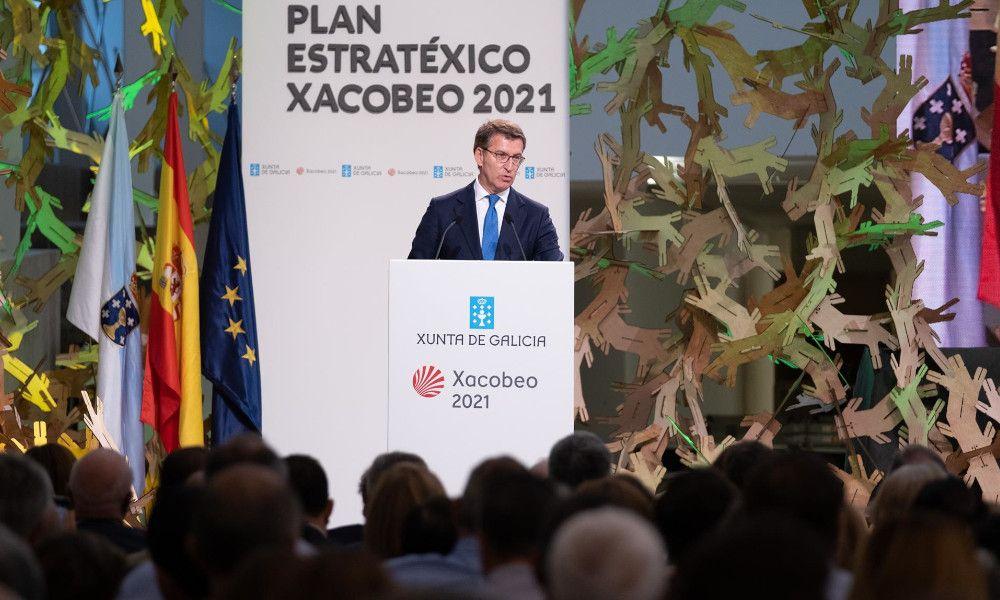 Feijóo augura un 'boom' económico de Galicia gracias al Xacobeo