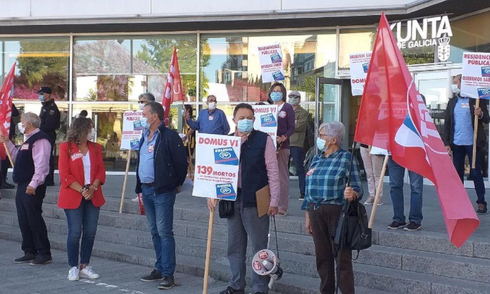Los trabajadores exigen investigar la gestión de las residencias
