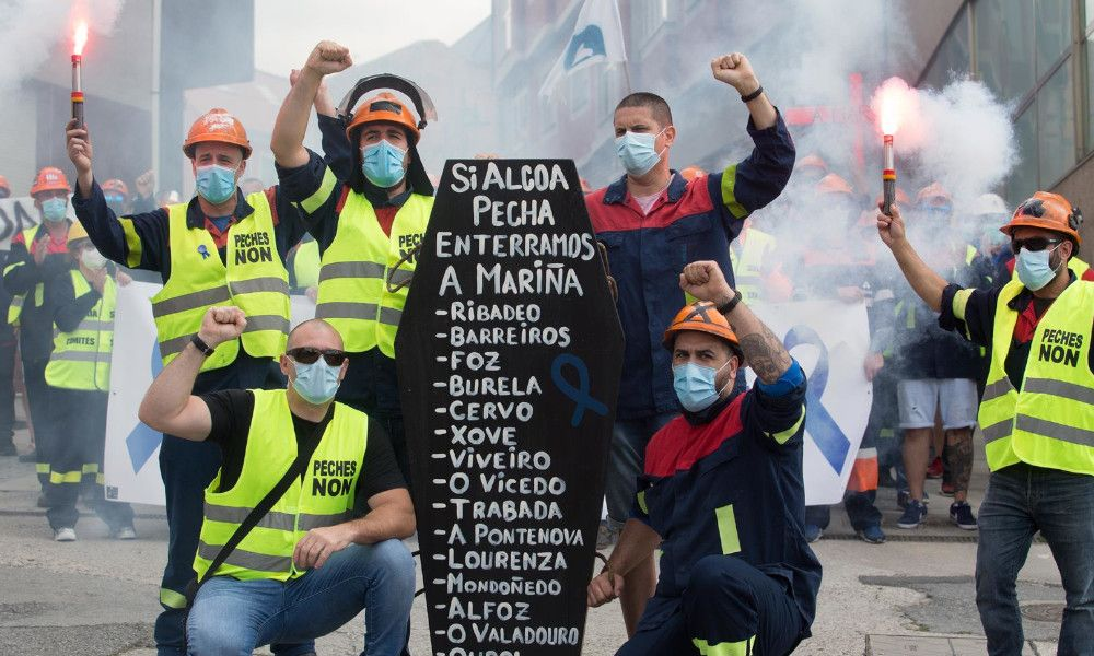 Industria desvela una oferta por San Cibrao y exige un 'sí' de Alcoa