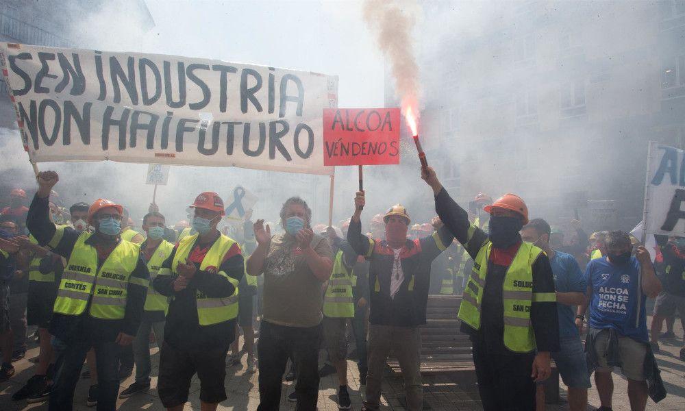 PP, PSOE, BNG y Galicia en Común alientan la nacionalización de Alcoa