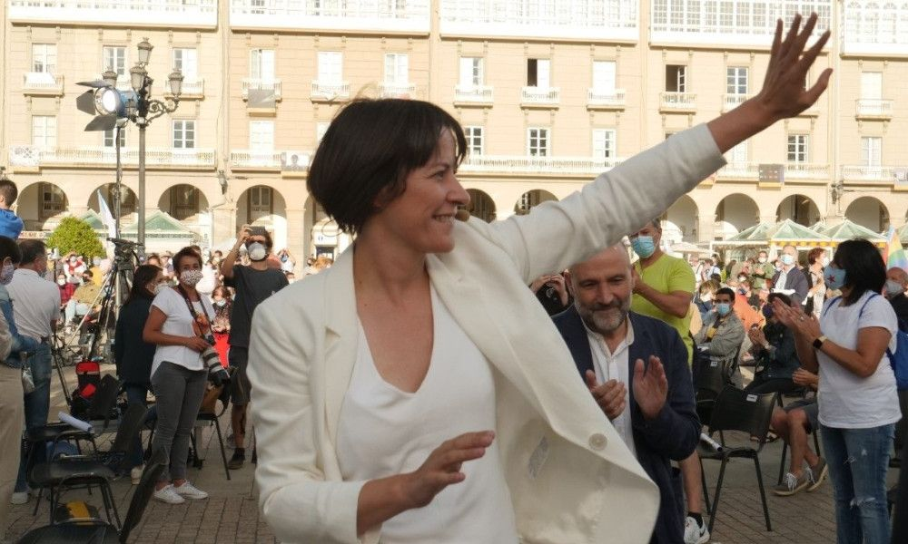 """Ana Pontón: """"Lo importante ahora es la gente de este país y sus vidas"""""""