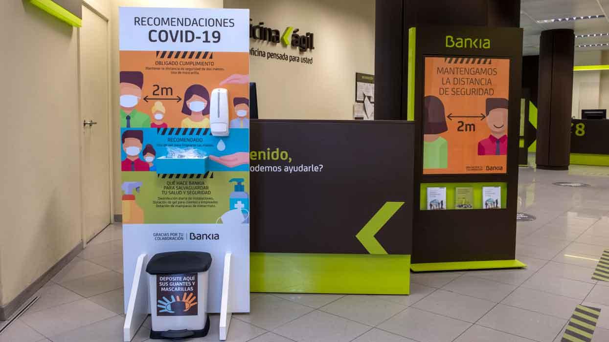 La banca blinda sus oficinas con sistemas de alerta de positivos