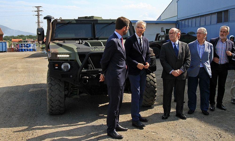 Urovesa, líder de la industria militar, quiere volver al sector civil