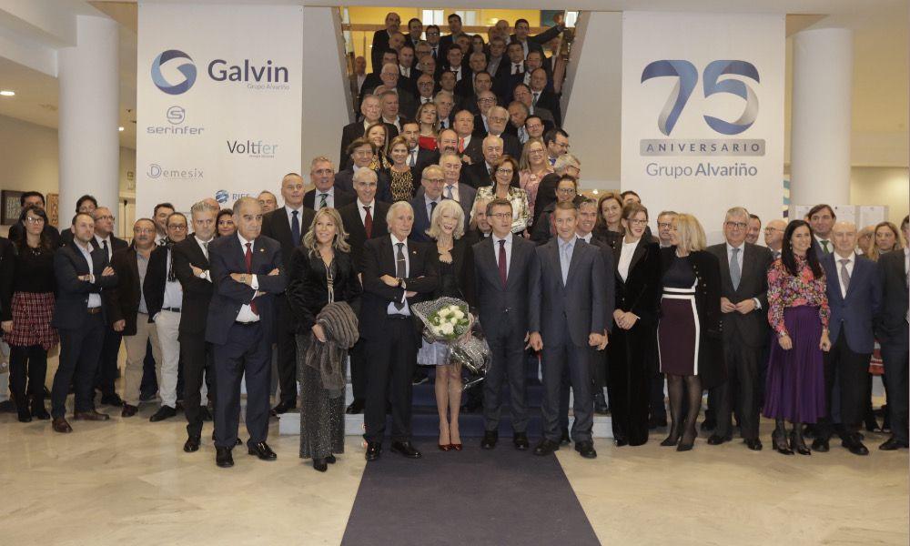 """Grupo Alvariño, la empresa que nació en un """"páramo"""", celebra 75 años"""