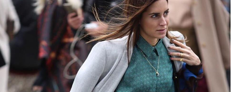 Gala, la 'otra' sobrina de Adolfo Domínguez, arrasa como bloguera de moda