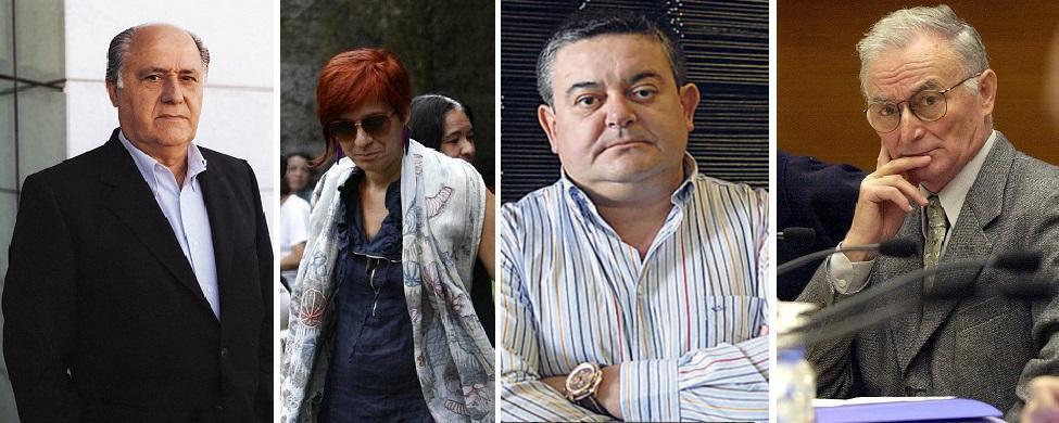 Manuel Añón y los Domínguez entran en la lista de Forbes