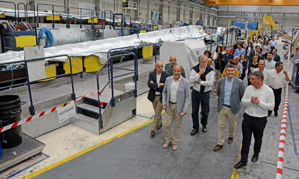 Siemens Gamesa tiene carga de trabajo para un año en A Coruña