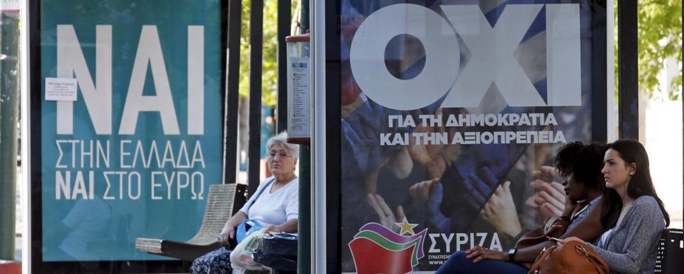 Bruselas no da opción a Grecia: o vota sí o la catástrofe