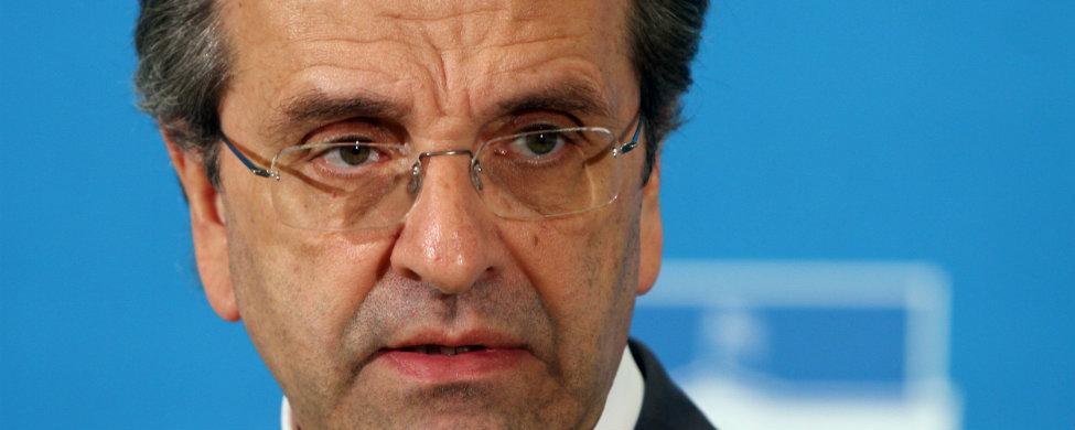 Dimite el líder del 'sí, Antonis Samaras