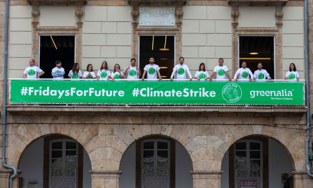Vídeo: Greenalia se suma a la lucha contra el cambio climático