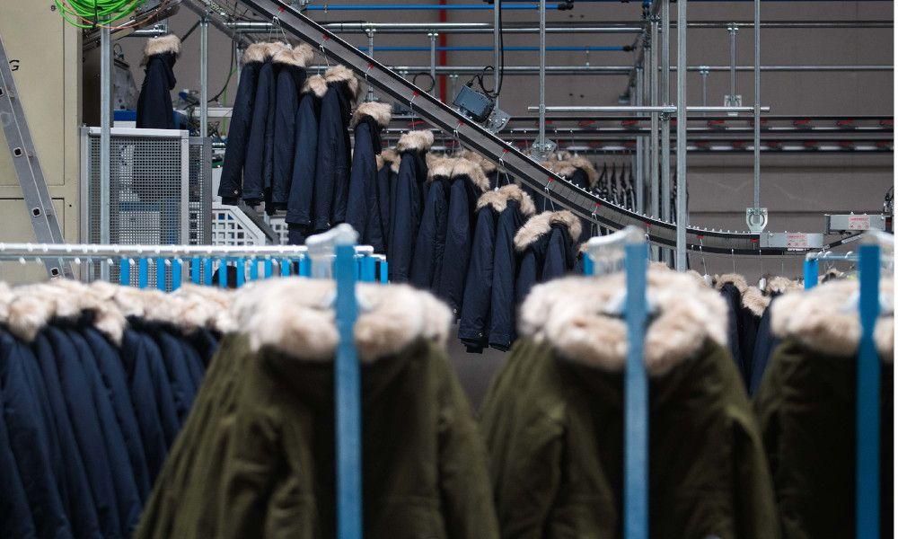 Zara convierte una empresa de planchado en un referente del textil