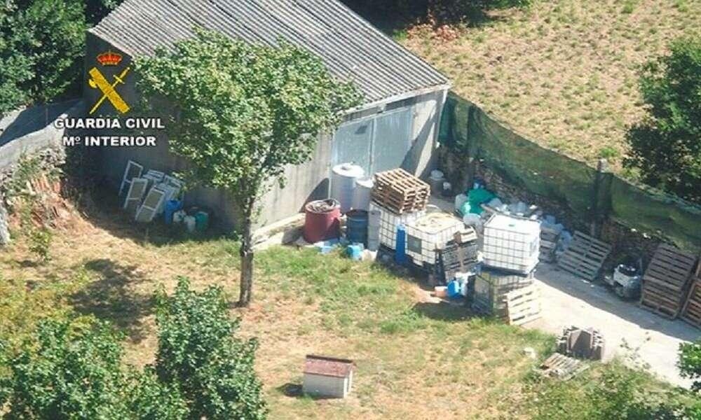 Un laboratorio ilegal vendía falso gel hidroalcohólico a hospitales