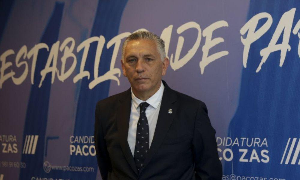 Paco Zas, nuevo presidente del Deportivo